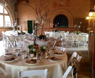 Wedding Reception Setup, 2013